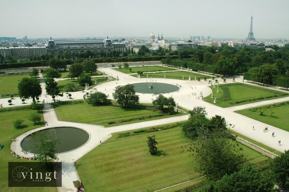 Vingt paris 20 jardins et squares for Jardins jardins des tuileries