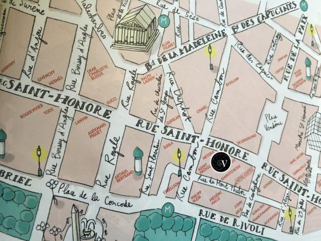 VINGT Paris Location Map