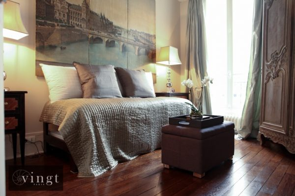 VINGT Paris Home from Home Etoile Trocadero Bed