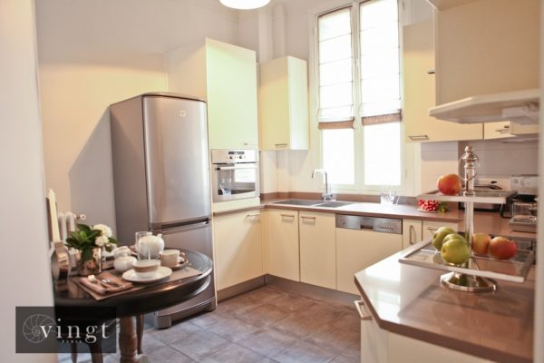 VINGT Paris Home from Home Etoile Trocadero Kitchen