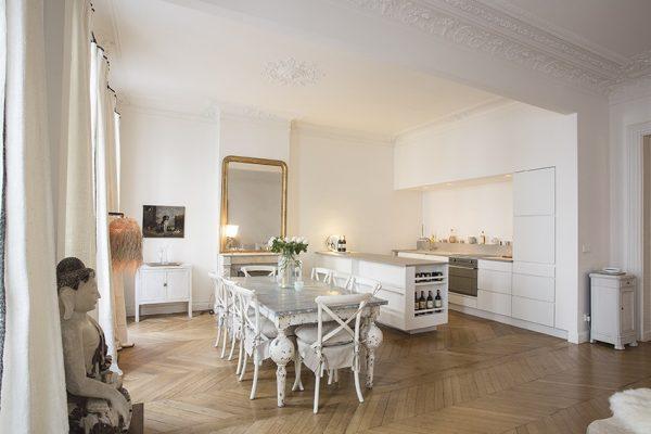 VINGT Parisian Apartment - Case Study - Diner