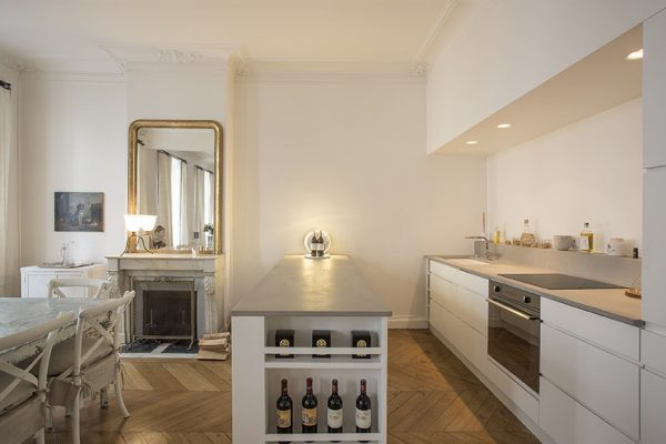 VINGT Parisian Apartment - Case Study - Kitchen