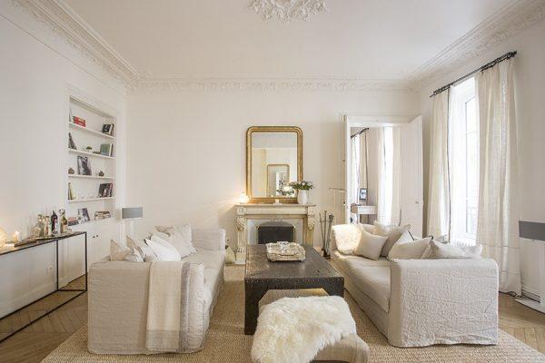VINGT Parisian Apartment - Case Study - Lounge