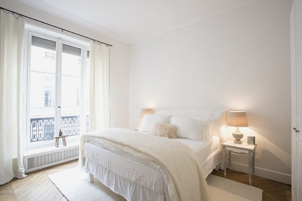 VINGT Parisian Apartment - Case Study - Bedroom